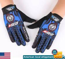 Cycling Full Finger Touch Gloves Mens Bicycle Sporting Outdoors Motobike Biker