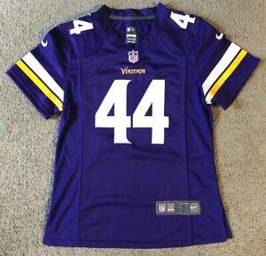 Nike On Field Embroidered Minnesota Vikings Chuck Foreman Women's Jersey - M/L