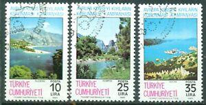 Türkei 1983 Michelnr. 2640 - 2642 rund gestempelt