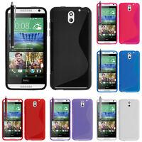 Schutzhülle für HTC Desire 610 TPU Silikon Flip Case Cover Etui