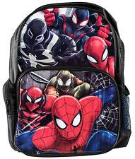 Spider-man Backpack Kids Boys Spiderman School Book Bag Travel Luggage Marvel