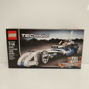 Lego Technic 42033 Record Breaker Land Speed 125 Pieces 2015
