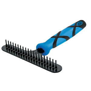 Groom Professional High Quality Undercoat Rake with Soft Grip Non-Slip Handle