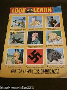 LOOK and LEARN # 163 - PICTURE QUIZ - FEB 27 1965