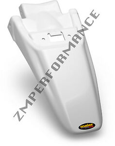 NEW HONDA 03 - 14 CRF 150F WHITE PLASTIC REAR MOTORCYCLE FENDER CRF150F