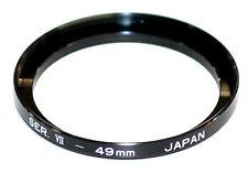 Soligor Japan Serie 7 / Serie VII Adapterring 49mm für Filter Vorsatz (NEU/OVP)