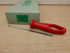 "CLEARANCE LINE NICHOLSON 6"" DOUBLE ENDED SAWFILE & HANDLE 02884M"
