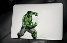 Incredible Hulk Decal Sticker Skin Stickers for Macbook Pro Air 13 15 17 inch GH