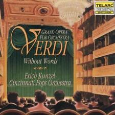 Verdi Without Words: Grand Opera For Orchestra - Cincinnati Pops Orch/K (NEW CD)