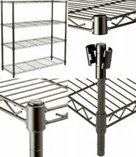 Amazon Basics 4-Shelf Adjustable, Heavy Duty Storage Shelving Unit (350 Black
