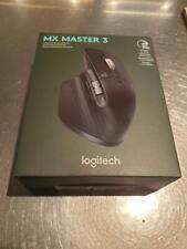 Logitech - MX Master 3 Wireless Laser Mouse - Black