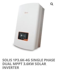 Solis / Ginlong Solis-1P3.6K-4G 3.6KW Solar PV Inverter 3600 Watt 4G New Sealed!