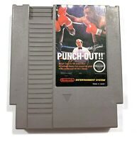 Mike Tyson's Punch-Out!! ORIGINAL Nintendo NES Game Tested + Working & Authentic