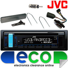 Ford Fiesta 95-02 JVC STEREO AUTO CD MP3 USB VOLANTE Interfaccia Kit 24fd02