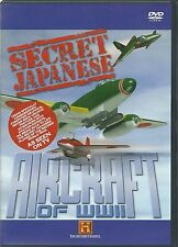 SECRET JAPANESE AIRCRAFT OF WWII DVD - SPECIAL EDITION - NEW