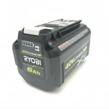 Ryobi Op40602 40v 6ah Hp Lithium Ion High Capacity Batteries w/ Fuel Gauge - NEW