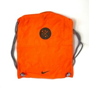New Nike/Adidas String Bag Gym Drawstring Soccer Cleats Backpack multicolor