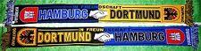 Dortmund Schal Motiv 9 Freundschaft Hamburg + neu +100 % Acryl+  Fan Ultra Kurve