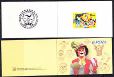 Europa Cept 2002 Russia booklet ** mnh (A511) Circus