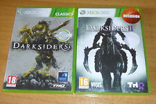 2 jeux XBOX 360 - Darksiders 1 + Darksiders 2