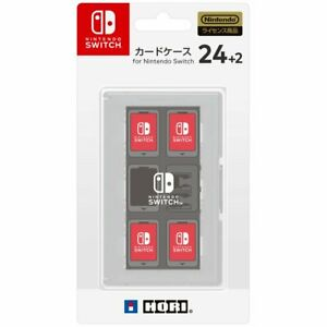 HORI Card Case 24 + 2 for Nintendo Switch White