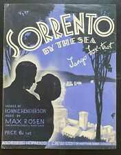 Sorrento by The Sea, Sheet Music (126)