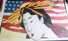 """Larry Rivers Madame Butterfly MET Opera Lithograph Poster 1978 Signed AP 36"""""""