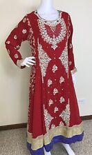 Pakistani Indian Designer Salwar Kameez Party Wear Embroidery Wedding Bridal L