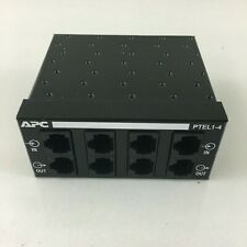 APC ProtectNet Standalone Surge Protector for Analog Telephone Lines PTEL1-4