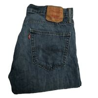 LEVIS 527 Mens Slim Bootcut W34 L31 Mid Blue Denim Jeans (D315)