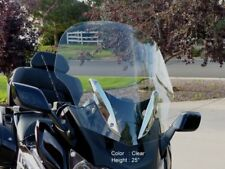 "BMW K1600GT/K1600GTL 2011-UP 25"" TALL, CLEAR REPLACEMENT WINDSHIELD"