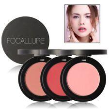 New 11 Colors FOCALLURE Blush Natural Blusher Face Contour Powder Makeup Palette