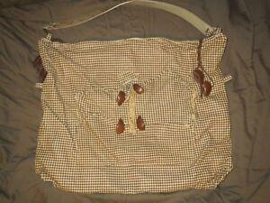 Authentic Susan Riedweg Hand Made X-Large Hobo Bag