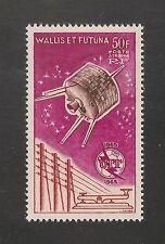 Wallis & Futuna #C20 VF MVLH - 1965 Telegraph, Satelite & ITU Emblem  SCV $21.00