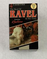The Best of Ravel & His Time Bolero 4 Cassette Box Set 1992
