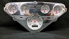 1955 1956 1957 1958 1959 CHEVY TRUCK 5 GAUGE CLUSTER WHITE METRIC ELECTRONIC