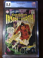 Brave and the Bold #31 (1960) - 1st Cave Carson! - CGC 5.5!! - Key!