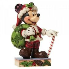 Disney Mickey Mouse Weihnachtsmann Holiday Cheer for All Enesco Figur 4046014