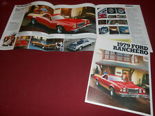 Repair Manuals Literature For 1979 Ford Ranchero For Sale Ebay