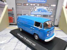 VW volkswagen t2 van autobús cerrado azul Blue 1972 maxichamps Minichamps 1:43