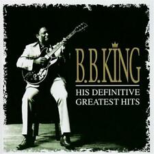 B.B. King His Definitive Greatest Hits 2 CD NEW