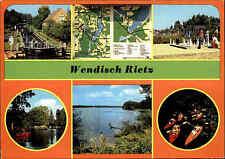 Wendish-Rietz GDR more image-AK etc. Lock, Hussars-Book, channel glubigsee etc.