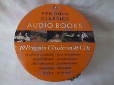 Penguin Classics Audio Books CD's in Zip Case