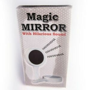 Magic Mirror With Sound- When Someone Picks Up This Mirror It Laughs Out Loud!