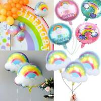 Rainbow Balloon Smile Cloud Foil Balloon Baby Birthday Party Wedding Decoration