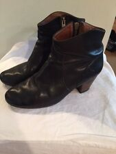 Isabel Marant SZ 39/US 9 Black Leather Dicker Ankle Boots Booties