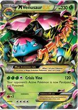 M Venusaur EX 2 Mega Pokemon XY Base Ultra Raro-condición de menta/casi como nuevo