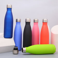 Sports Water Bottle 17oz Insulated Double Wall Vacuum Stainless Steel Kettle