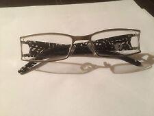 Genuine Oskar Levinski Aurora Glasses Frames - Stainless Steel - Brand New