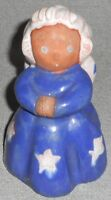 RARE 1940s Lichten Ware ANGEL SISTER Red Clay Figurine MADE IN USA